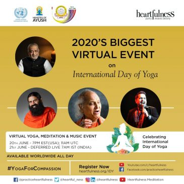 """International Yoga Day: """"Let us Invigorate ourselves against the pandemic of COVID-19"""""""